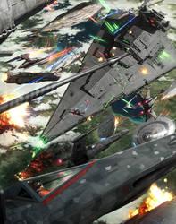 The Anakin Solo over Kashyyyk by wraithdt