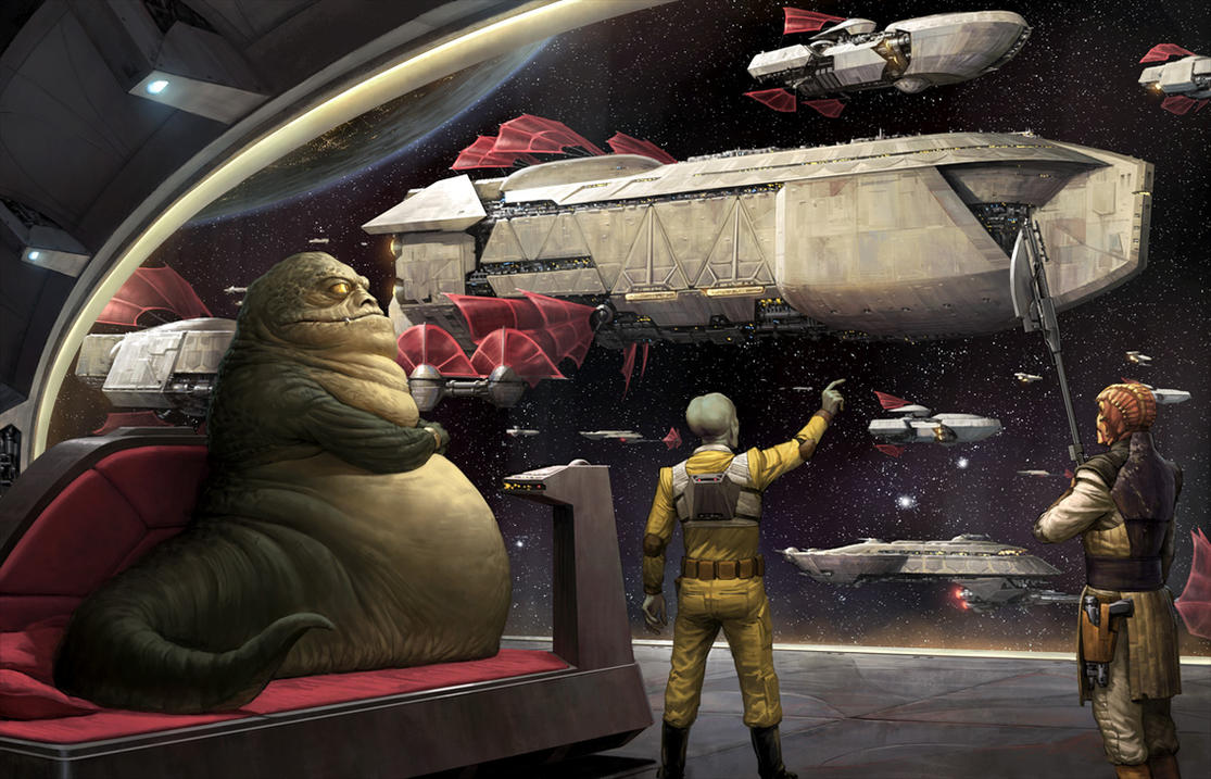The Hutt Fleet by wraithdt