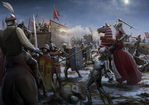 Battle of Kutna Hora by wraithdt