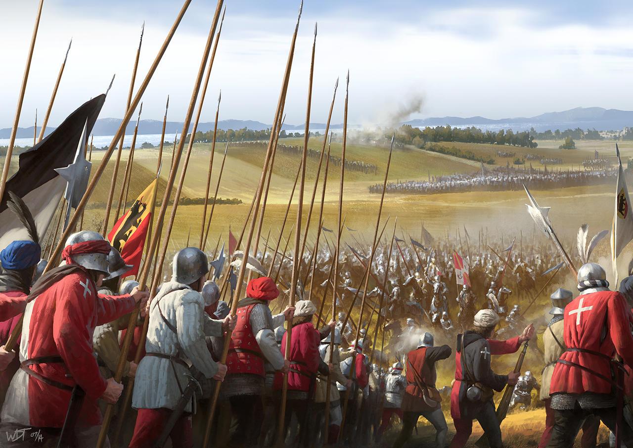 Battle of Grandson by wraithdt