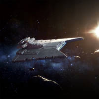 Star Wars Armada: Gladiator Star Destroyer by wraithdt
