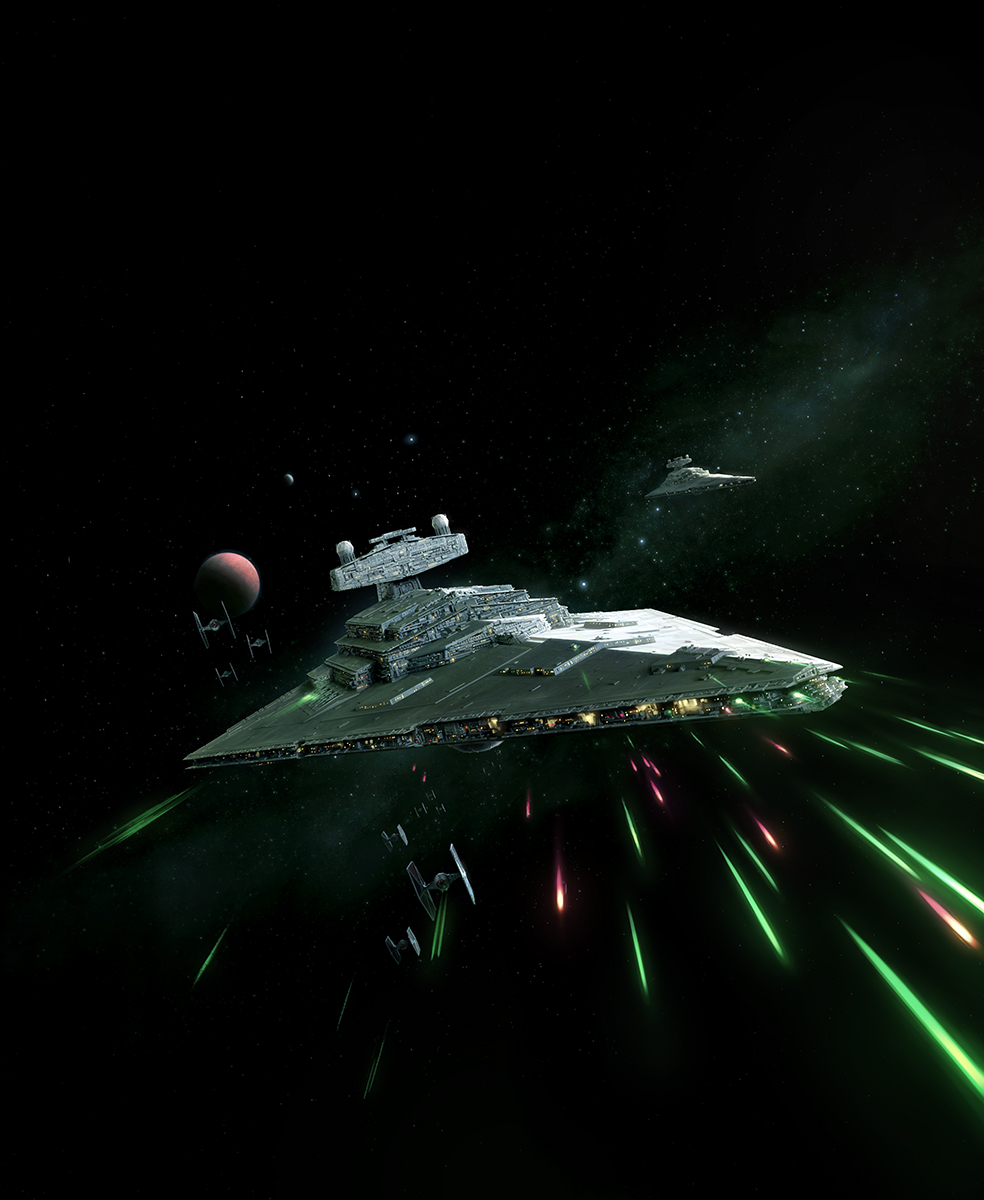 Imperial II Class Star Destroyer