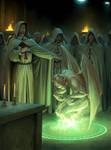 Templars Summon a Demon