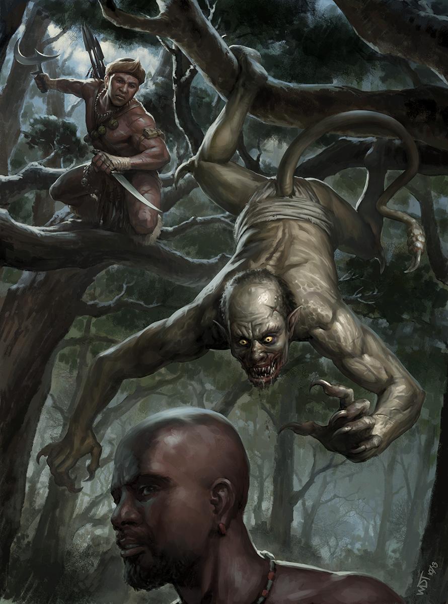 African Vampire Hunter