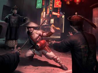 Chinese Vampire Hunter