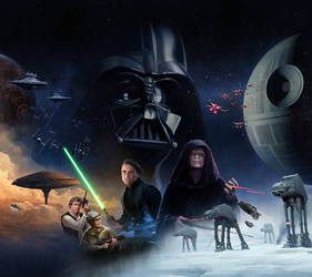 Star Wars Rebellion Box Art by wraithdt