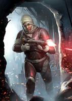 Imperial Assault - Dengar by wraithdt