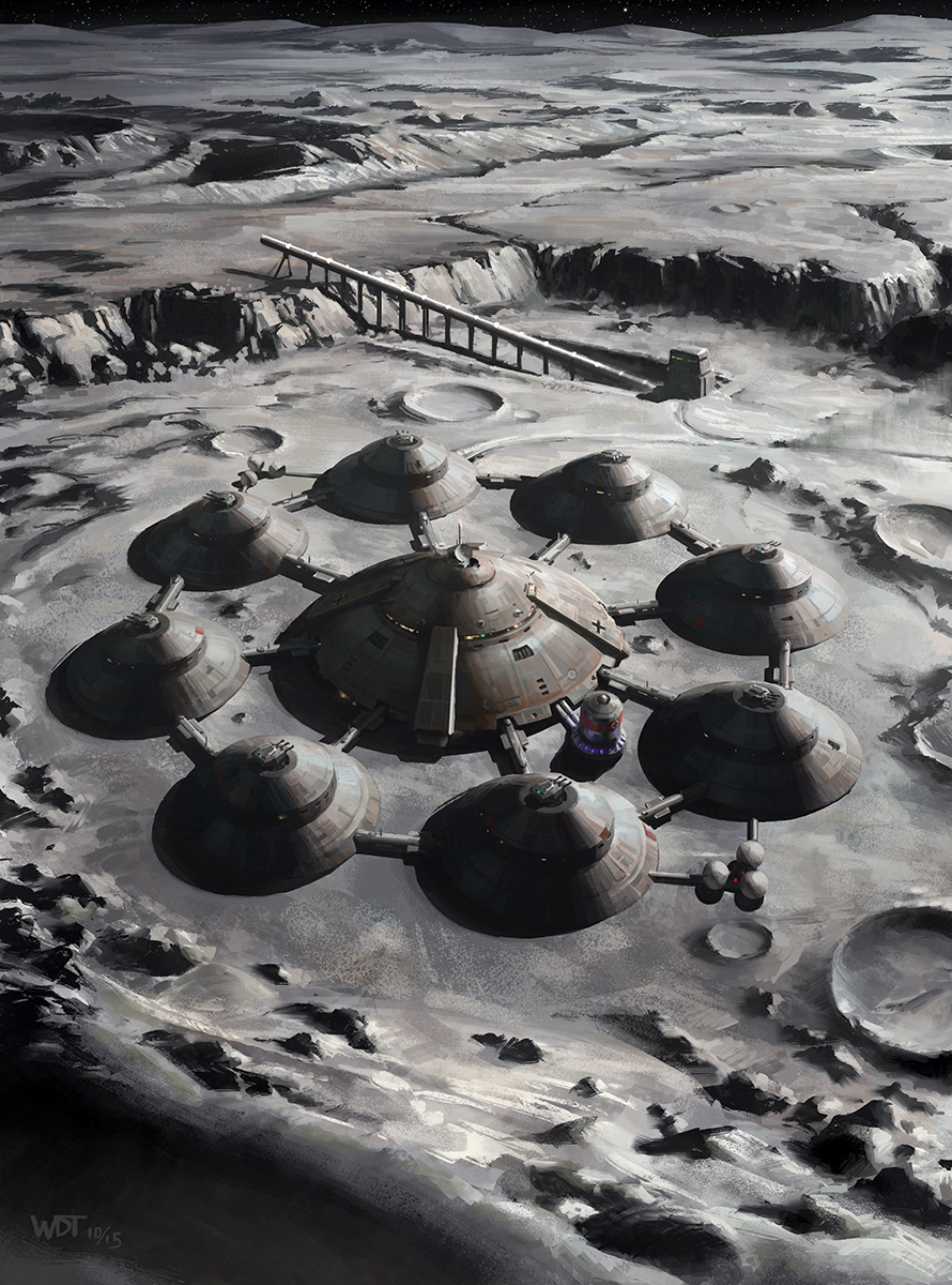 lunar colony in space - photo #36