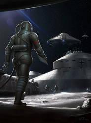 Nazi Moonbase - Base Assembly by wraithdt