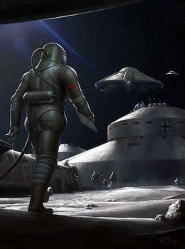 Nazi Moonbase - Base Assembly