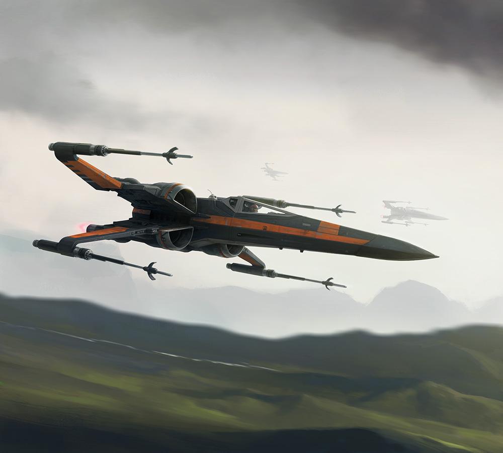 XWMG - Poe Dameron's X-wing by wraithdt on DeviantArt
