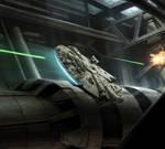 XWMG - Rey in Millennium Falcon