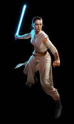 SW: Destiny - Rey by wraithdt
