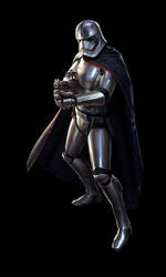 SW:Destiny - Captain Phasma by wraithdt