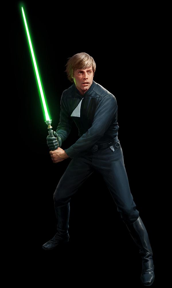 SW:Destiny - Luke Skywalker by wraithdt