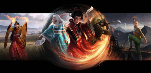 Legend Of The Five Rings LCG Box Art