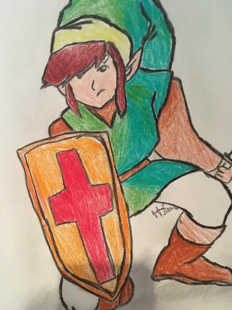 Link Fanart by ZeldaGeek39