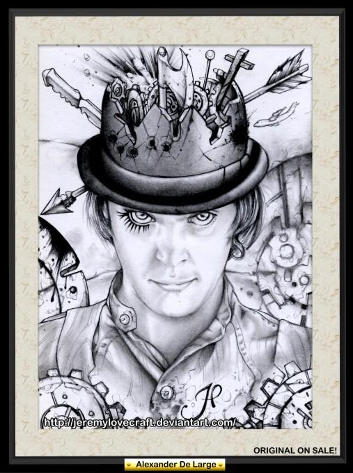 Alex Delarge Art