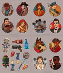 Fallout 4 Stickers