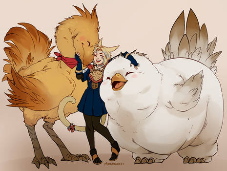co: Aisling the chocobo breeder