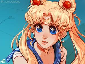 Sailor Moon [Redraw Challenge]