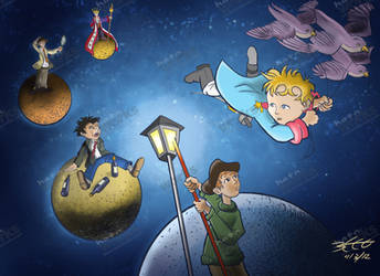 The Little Prince by obertoons
