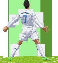 Cristiano Ronaldo Pixel Art By Srmoro On Deviantart
