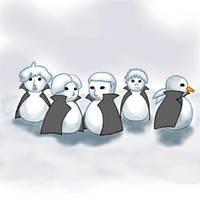 Snowchildren of Befort by Ainslee-The-Hermit