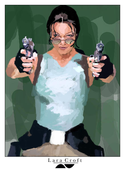 Lara Croft by sid