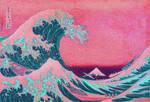 Kanagawa oki namiura Katsushika Hokusai