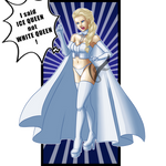 Commission - Elsa the white queen