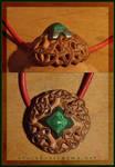 Celtic malachite dome