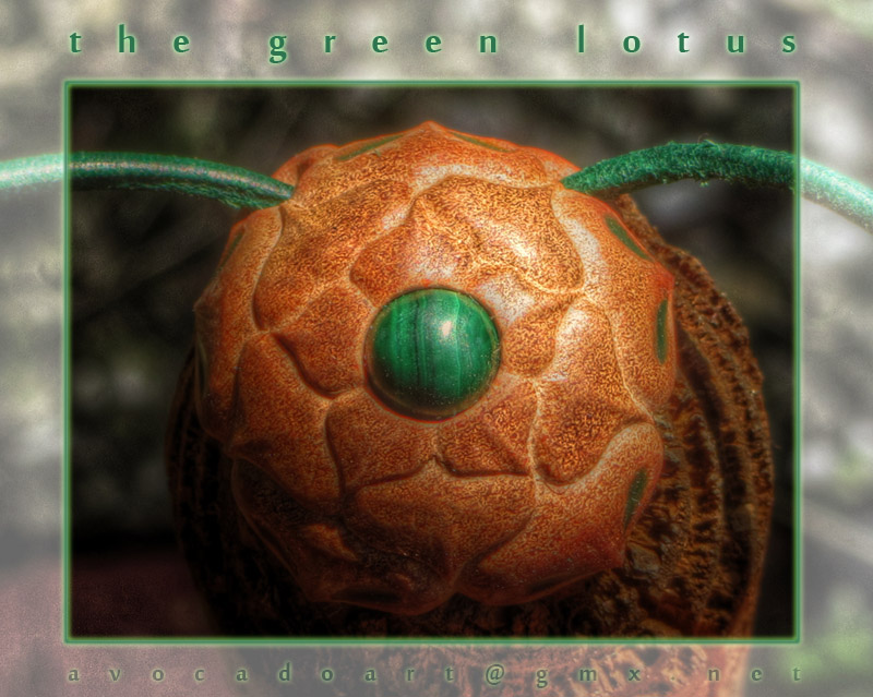 the green lotus by AvocadoArt
