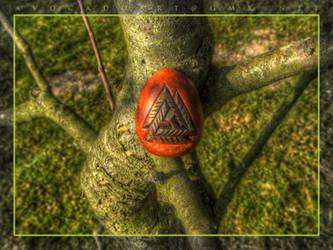 ancient Valknut by AvocadoArt