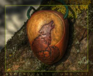 Kitty'n'wolf by AvocadoArt