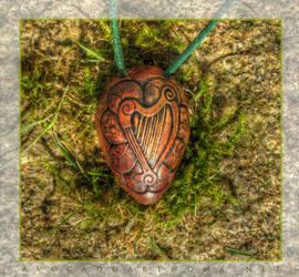 Harp on clover by AvocadoArt