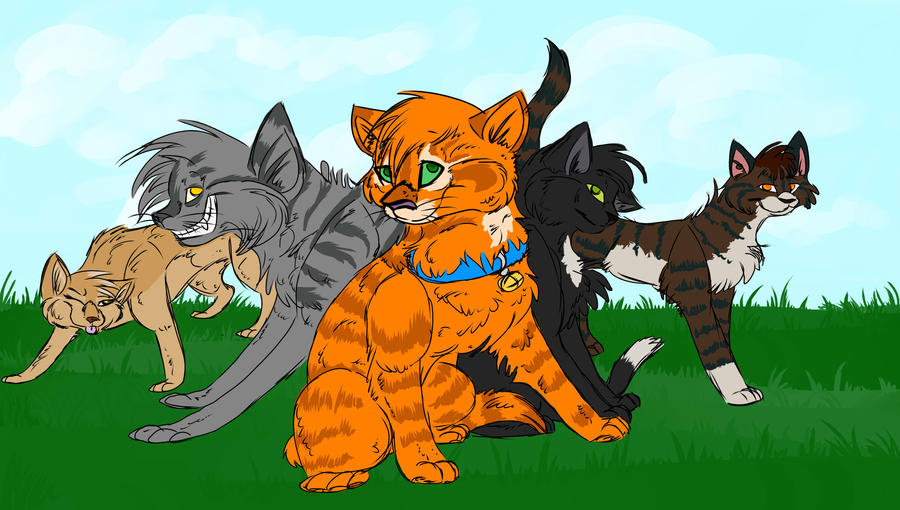 Rusty Warrior Cats Plushies
