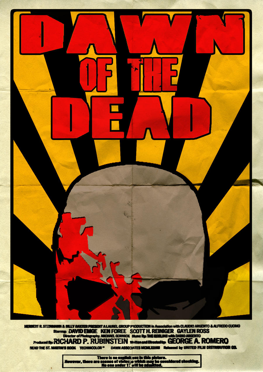 Dawn Of The Dead Poster by JEKnight on DeviantArt