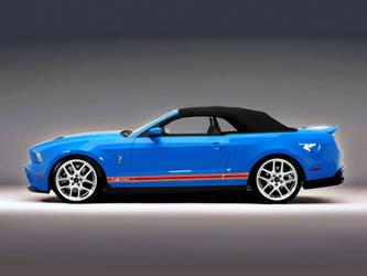 BlueRed Shelby GT500 by lovelife81