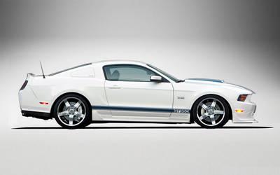 Shelby GT350 WhiteBlue by lovelife81