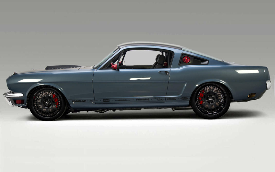 66 Mustang Race Car By Lovelife81 On Deviantart