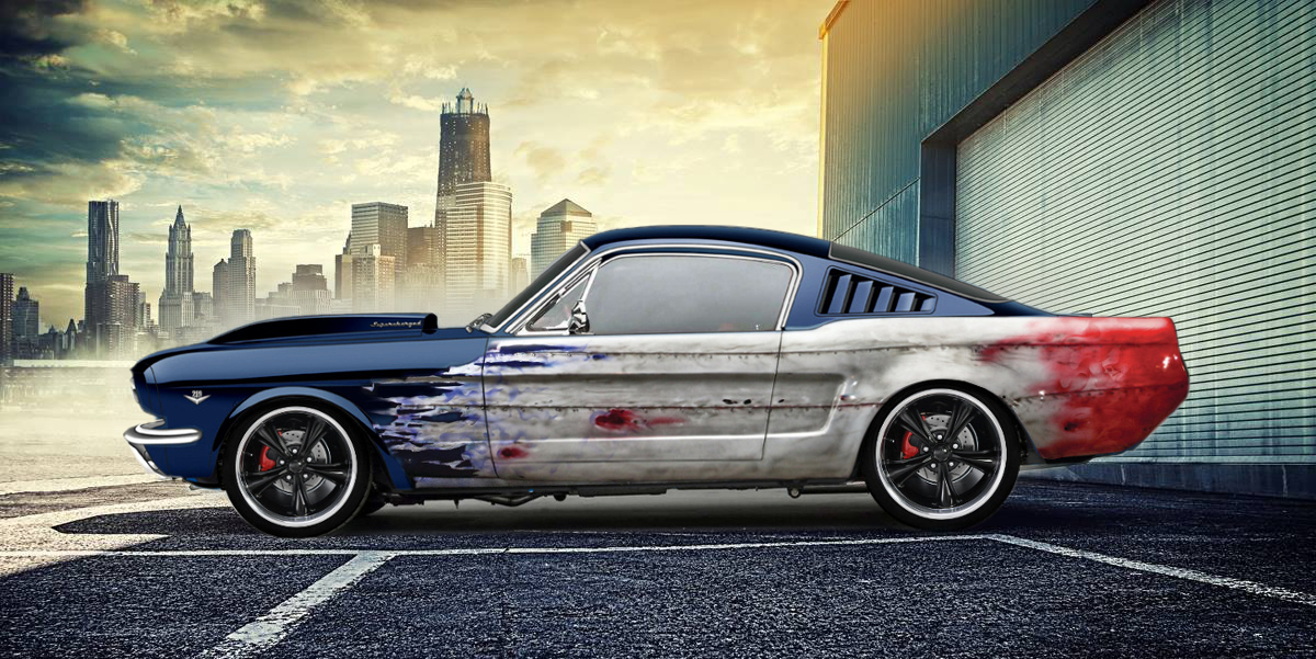 Fastback Mustang by lovelife81