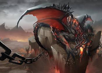 dragon by oustins