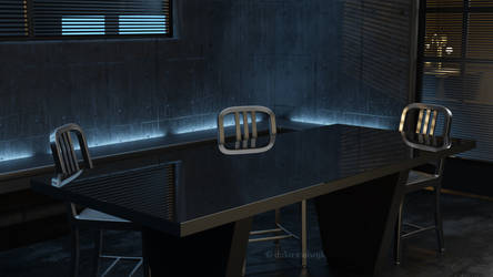 CSI Las Vegas Interrogation Room