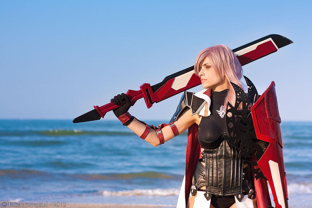 Final Fantasy XIII - Lightning Farron by oShadowButterflyo