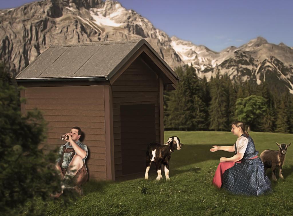 Heidi und der Ziegenpeter by ackermaennchen