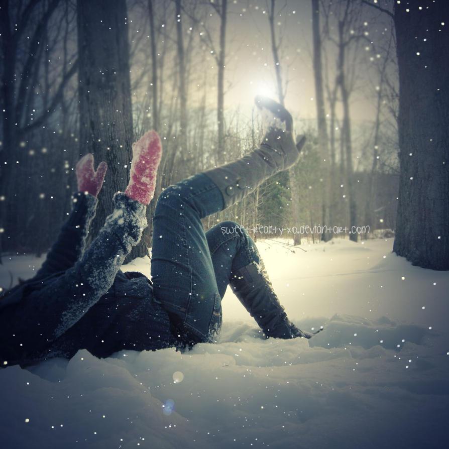 playing in the snow by sweet reality xo - B�y�k Boy Avatarlar..
