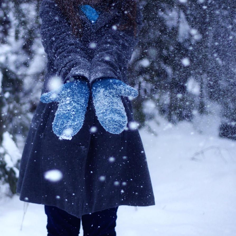 Фото девочек зимой на аву