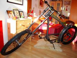My bike.. by pasteldark