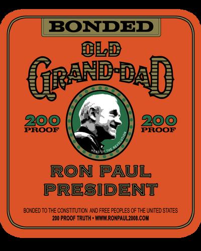 Ron Paul Old Granddad by ayebretwalda